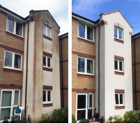 Render Wall Cleaning Croydon Purley